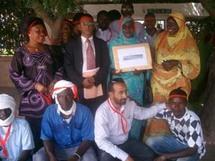 Sit-in des malades du VIH/SIDA devant la représentation de la Banque Mondiale à Nouakchott