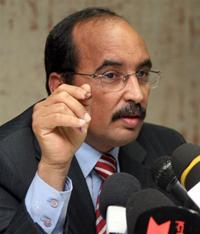 Le président mauritanien Mohamed ould Abdel Aziz, le 19 juillet 2009.