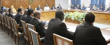 Commmuniqué du Conseil des ministres