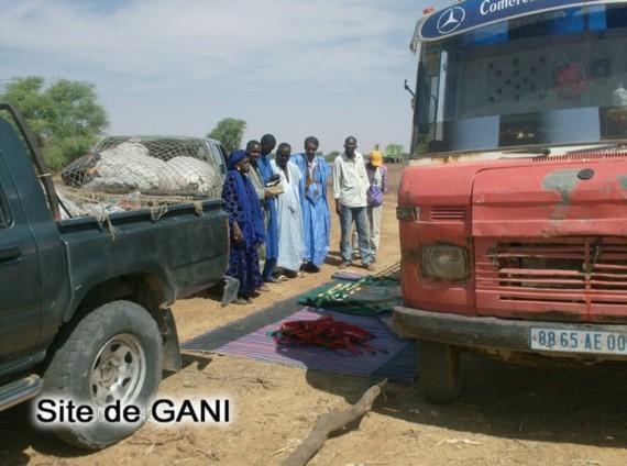 Reportage - photos Mission de l'AVOMM : Journal de la 1ère journée de l'opération de distribution des fournitures scolaires