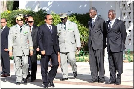 Le président de la République préside la cérémonie de levée des couleurs [Reportage Photos Cridem]