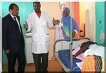 Le Président de la République effectue une visite inopinée à l'Hôpital Cheikh Zayed