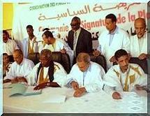 Nouvelle coordination des Forces de l'opposition : Cérémonie de signature de la plate forme politique (CFOD)