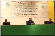 Le Président de la République assiste au démarrage du colloque scientifique sur l'islam....