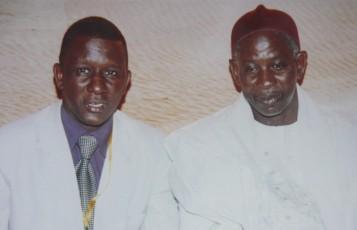 Le Président Ibrahima Moctar SARR et Ciré KANE, le 18 janvier 2010, 2ème journées de réflexion sur : Quelle gouvernance pour la Mauritanie après 50 ans d'indépendance?