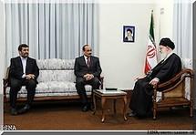 Le Président Aziz s'entretient avec le Guide de la révolution islamique iranienne