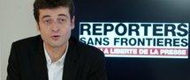 Le secrétaire général de Reporters sans frontières Jean-François Julliard