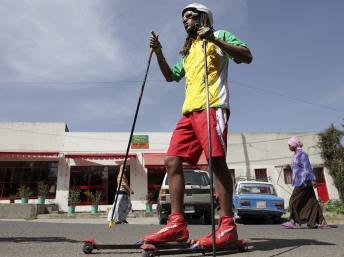 Robel Teklemariam représente l'Ethiopie aux JO d'hiver pour la deuxième fois.
