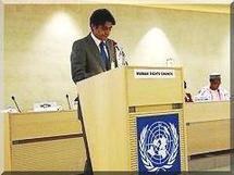 Discours de Mr Mohamed Lemine Ould Dadde à Genève le 04 mars 2010