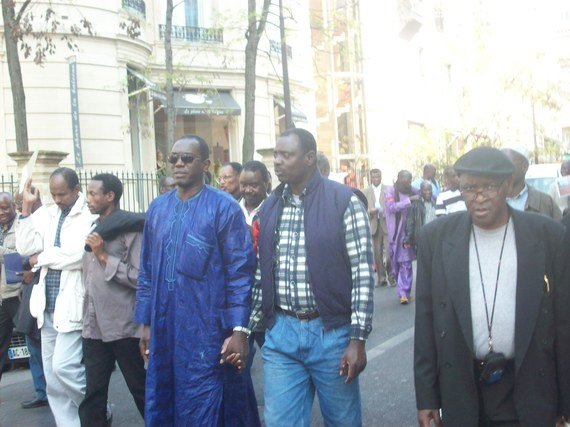 Commémoration du 21ème anniversaire de la déportation des Noirs de la Mauritanie - Reportage photos de Ngolo Diarra