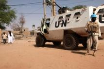 Mali: quatre casques bleus tués par une mine dans la région de Mopti
