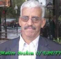 Gros plan sur Maitre Brahim Ould Ebety dans un entretien exclusif