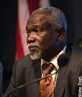 Gros plan sur Monsieur  Boubacar OULD MESSAOUD, le Président de SOS ESCLAVES, dans un entretien exclusif