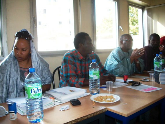 En images, l'Assemblée générale de l'AVOMM du 10 octobre 2010