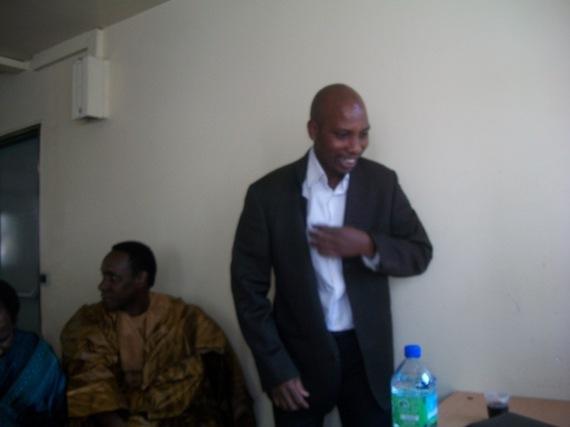 Mr Ngolo Diarra