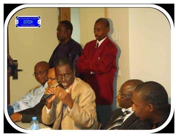 M Kane Hamidou Baba, Siléye Wone, Amadou Alpha Ba, Idy Ba, Mamadou Ly, Lo Gourmo