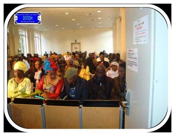 Bruxelles: Hommage à Saidou Kane