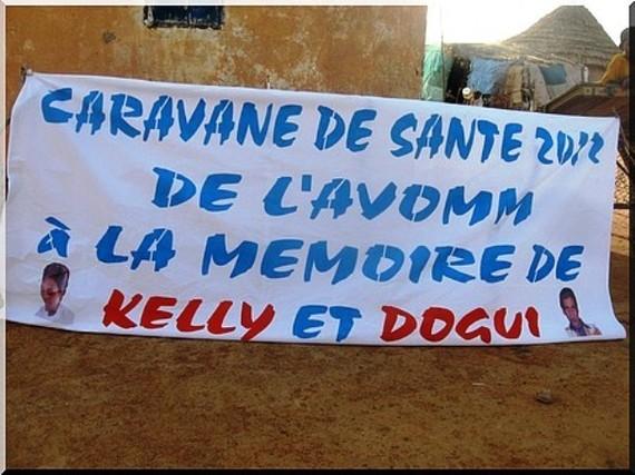 Une caravane médicale de l'AVOMM séjourne chez les rapatriés de Houdallaye et de Bèlel Ournguel au Brakna.