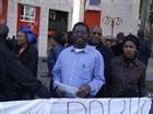 MANIFESTATION CONTRE LA VISITE DU PRESIDEN T OULD VALL EN FRANCE
