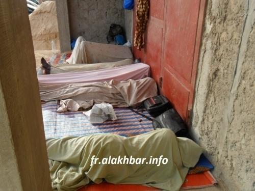 Des déportés Mauritaniens au Sénégal en grève de la faim (reportage photos)