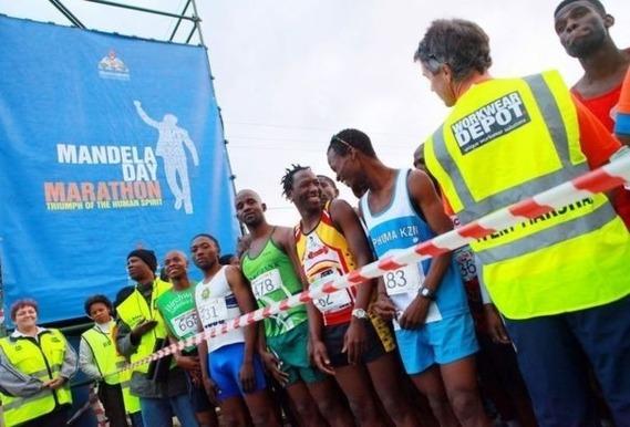 Un marathon organisé en l'honneur de Mandela