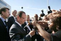 François Hollande le 12 octobre à Dakar avant le sommet de la francophonie