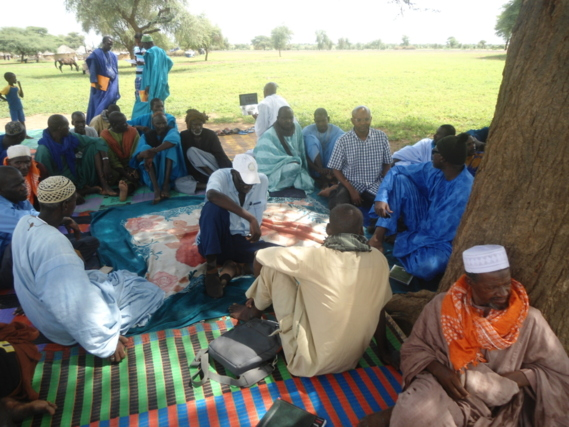 Assemblée générale des déportés mauritaniens au Sénégal par Abda Wone (photos)