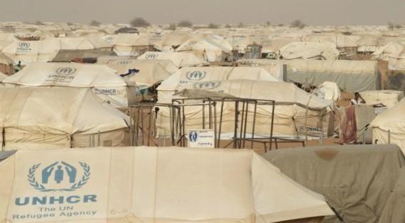 Le camp de réfugiés de M'Béra dans le sud de la Mauritanie