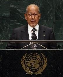 Son excellence le président Sidi Mohamed ould Abdallahi a procédé à l'ouverture officielle des travaux des journées de concertations nationales