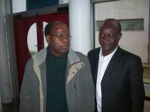 Les professeurs Hamdou Rabbi Sy et Kassoum Sidiki Ba