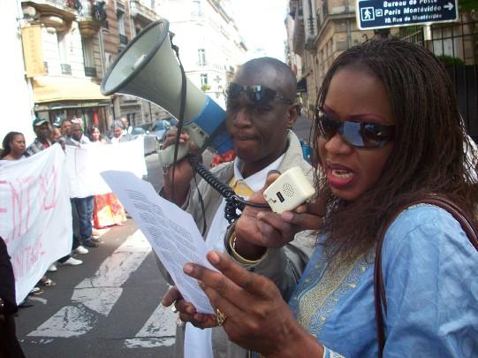 Manifestation du 26 avril 2008 à Paris à l'appel de l'AVOMM, AFMAF, OCVIDH, FLAM