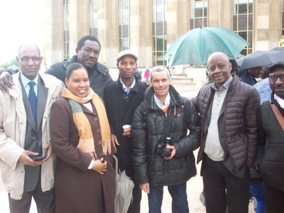 Samba Dia, Rougui DIA,Ousmane Sarr, Ngolo Diarra, Boubacar SY, Ciré BA et Boubacar Thiam.