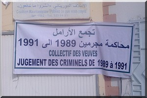 Journée de réconciliation nationale du 25 Mars : Réclamant justice pour leurs maris, les veuves organisent un sit-in