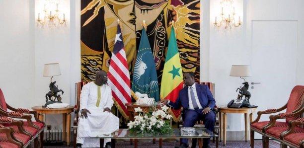 Visite de Travail : Weah demande au président Sall le soutien du Sénégal