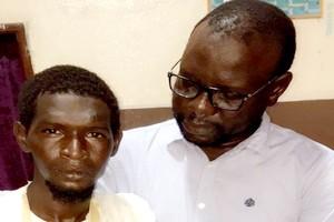 Demba Sall militant de la CVE amputé de la main droite se plaint