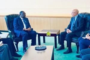 Le Président de la République s'entretient à New York avec son homologue sénégalais