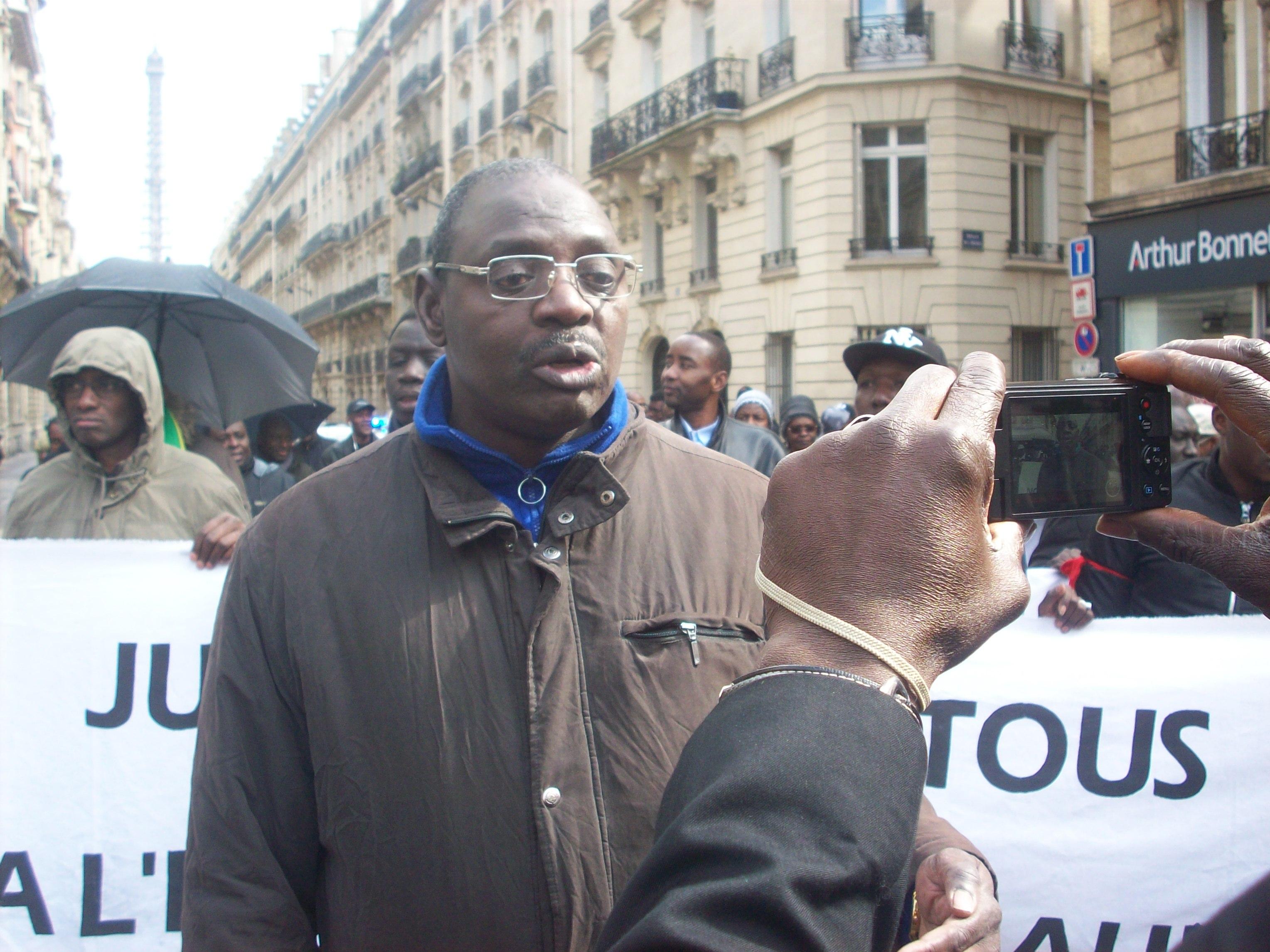 Amadou Bathily, le président de l'AVOMM.