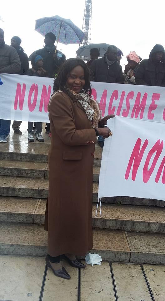 Mariame Kane, présidente de l'AFMAF.