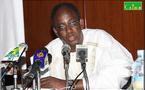 Le président de l'OCVIDH Mr Abdoul Aziz Soumaré s'adresse à ses militants.