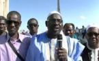 Mauritanie: Bathily Amadou, Président de l'AVOMM s'exprime lors de la manifestation de la diaspora le 21 avril 2018 à Paris. par Ibra Ibra Khady Ndiaye Journaliste Iknews