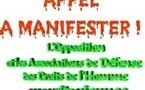 APPEL :TOUS Á LA MANIFESTATION DU 27 NOVEMBRE A PARIS