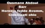 Rétro/ Vidéo: Ousmane Abdoul Sarr, président de l'AVOMM à Cincinnati (USA).