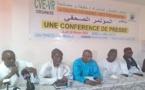 La CVE/VR dévoile sa plateforme : conférence de presse de Dia Alassane, président de la coalition